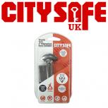 Flint 1* Kitemarked Thumb Turn Euro Cylinders - Retail Packaged